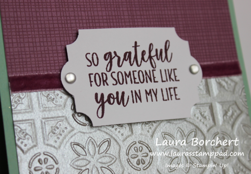 So Grateful For You, www.LaurasStampPad.com