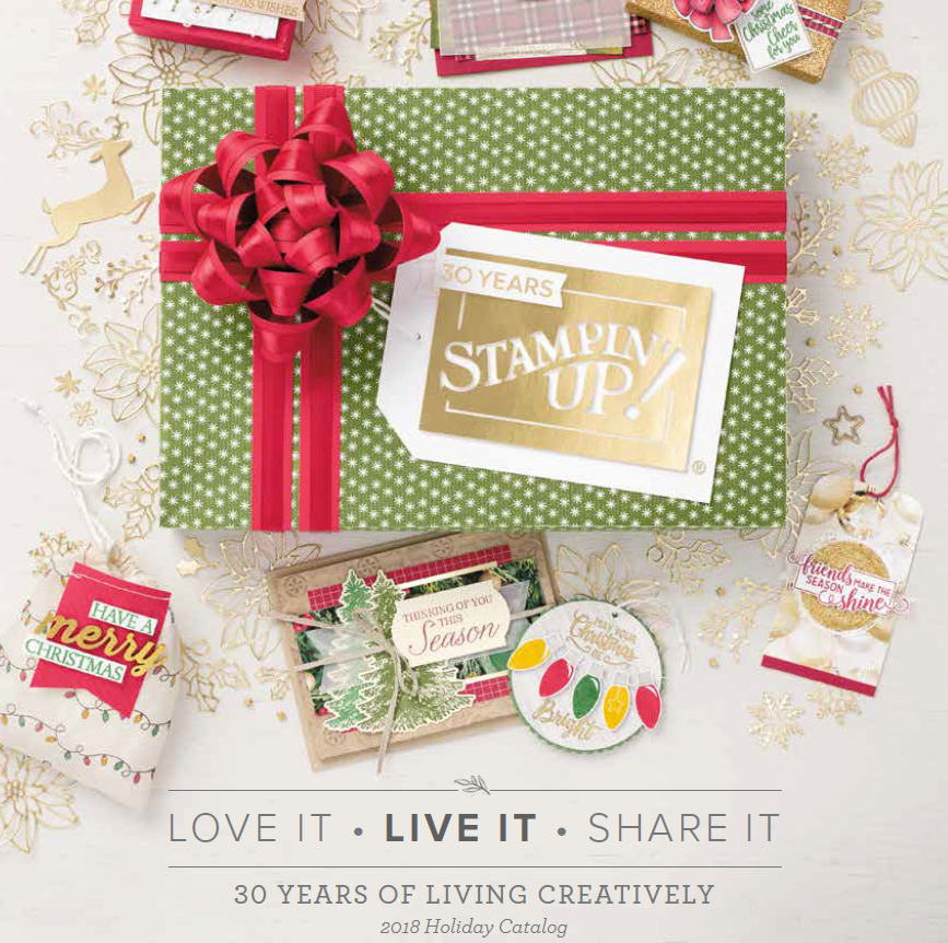 2018 Holiday Mini Catalog is here, www.LaurasStampPad.com