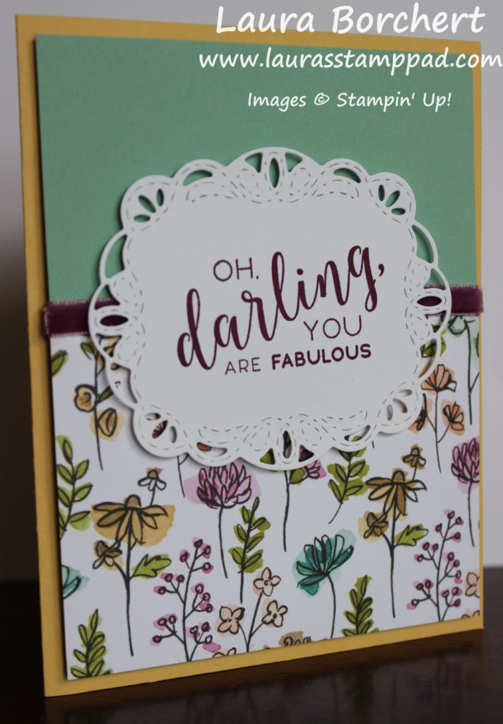 Oh Darling You Are Fabulous, www.LaurasStampPad.com