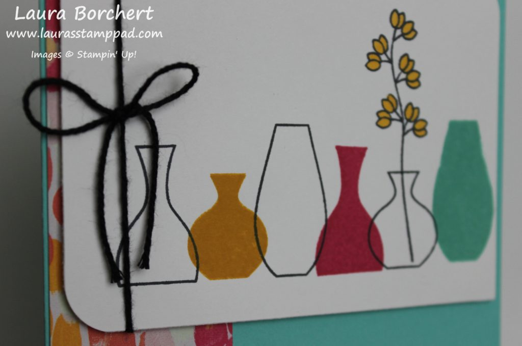 Varied Vases, www.LaurasStampPad.com