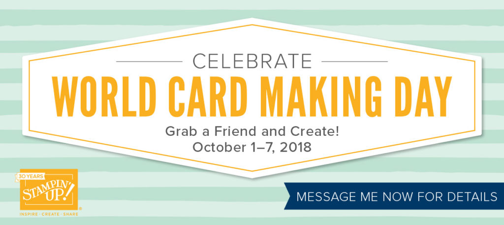 World Card Making Day 2018, www.LaurasStampPad.com