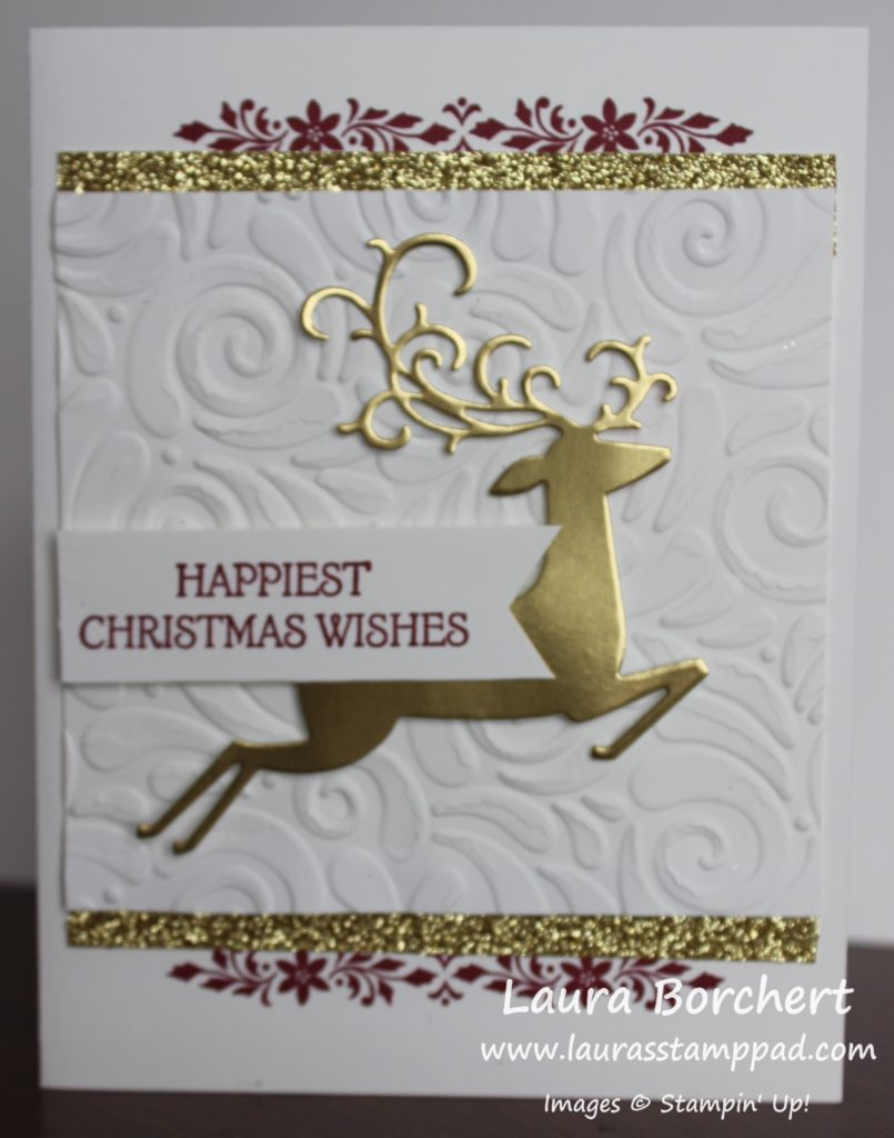 Detailed Deer Card, www.LaurasStampPad.com