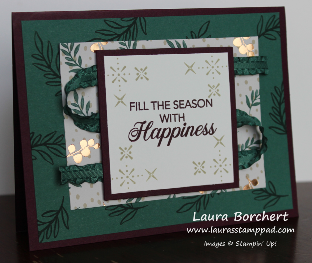 Stamping Perfect Corners, www.LaurasStampPad.com