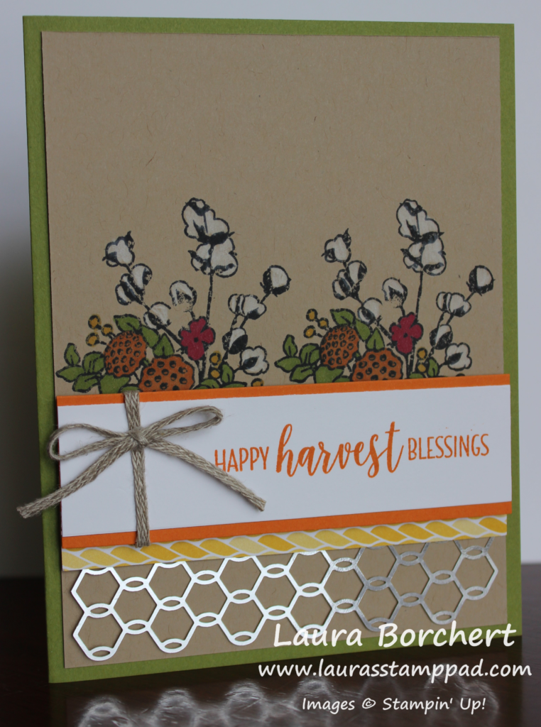 Securing Chicken Wire to Your Card, www.LaurasStampPad.com