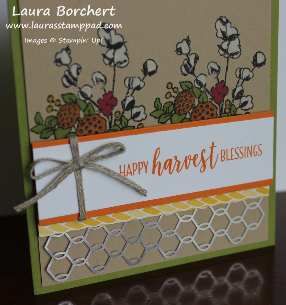 Harvest Blessings, www.LaurasStampPad.com