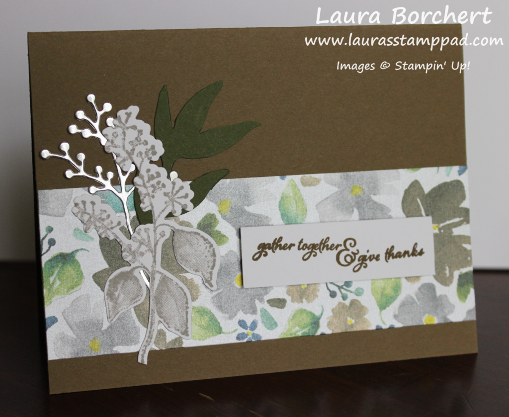 Thanksgiving Cards, www.LaurasStampPad.com