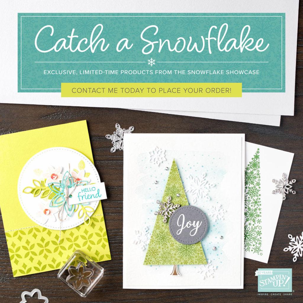 Snowflake Showcase, www.LaurasStampPad.com