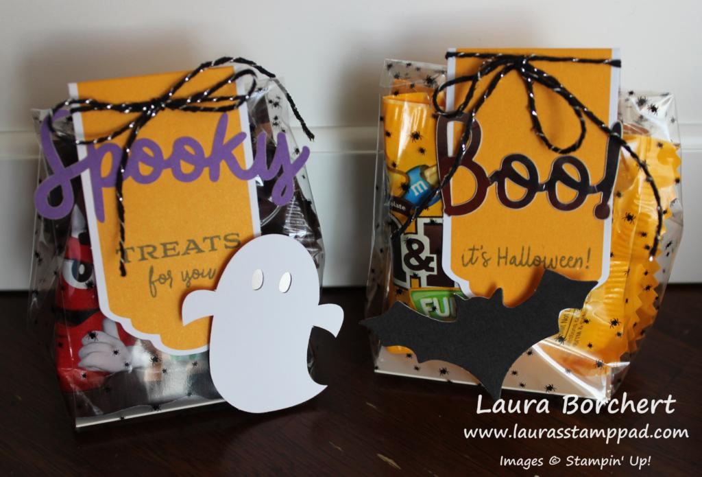 Spooky Boo Bag, www.LaurasStampPad.com