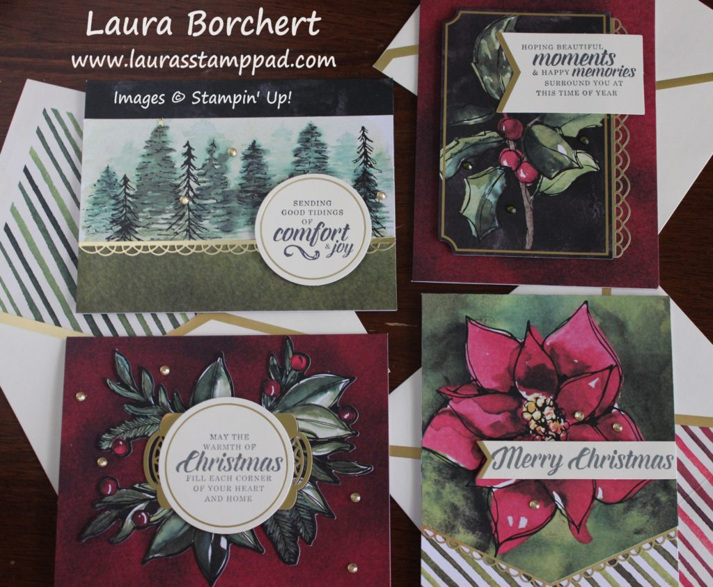 Timeless Tidings Project Kit, www.LaurasStampPad.com