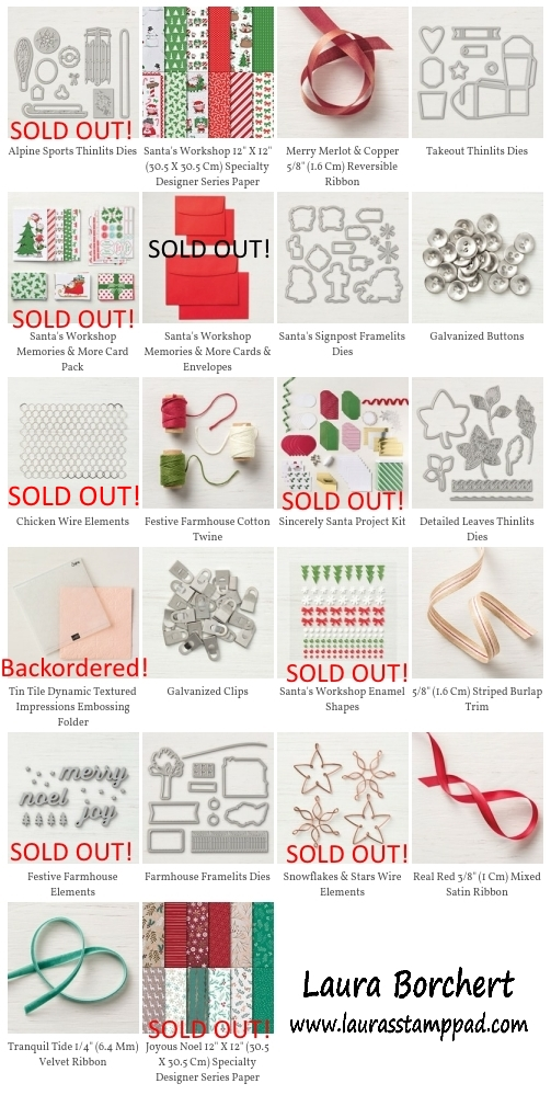 Hurry Before They Are Gone, www.LaurasStampPad.com