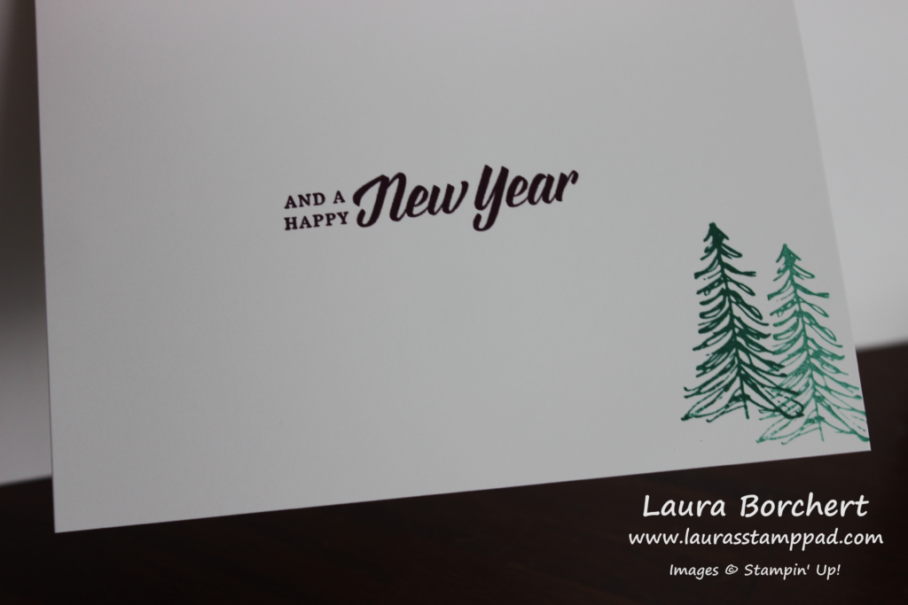 Happy New Year Greeting, www.LaurasStampPad.com