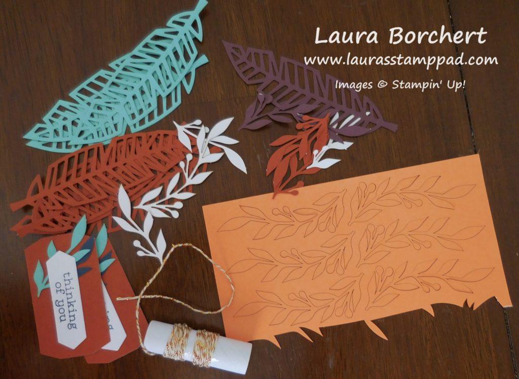Paper Pumpkin Leftover Feathers, www.LaurasStampPad.com