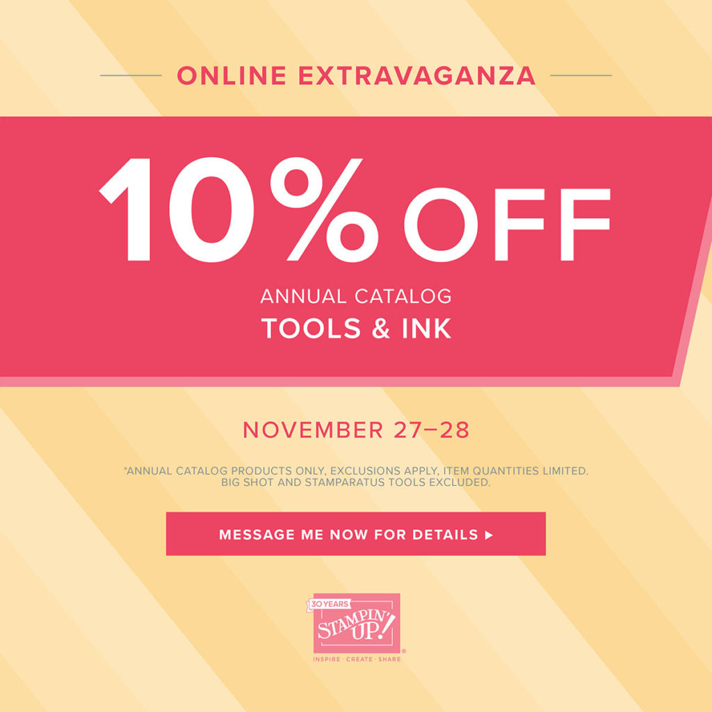 Tools & Inks Are On Sale,www.LaurasStampPad.com