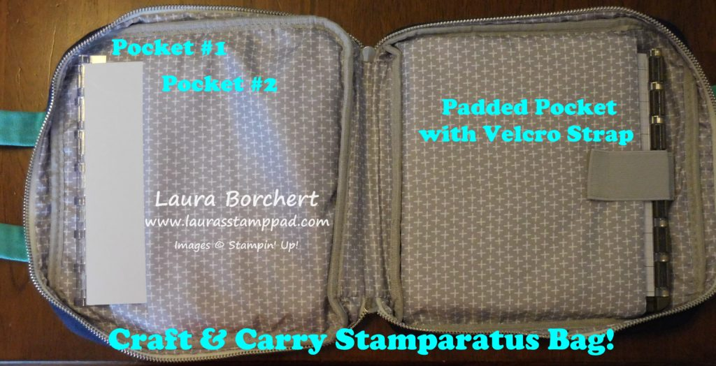 Craft & Carry Stamparatus Bag, www.LaurasStampPad.com