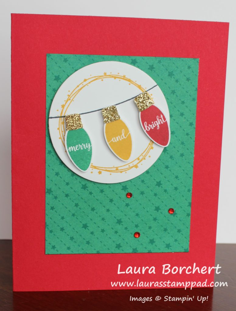 Merry & Bright, www.LaurasStampPad.com