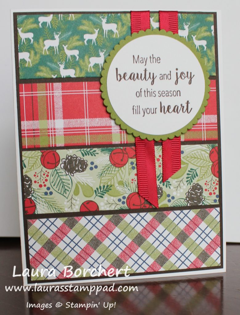 Designer Series Paper Scraps Used Up, www.LaurasStampPad.com