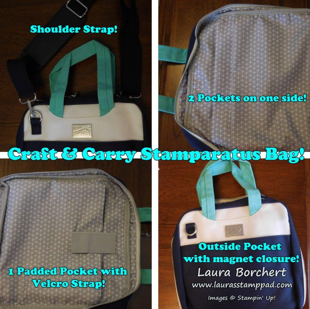 Stamparatus Bag Details, www.LaurasStampPad.com