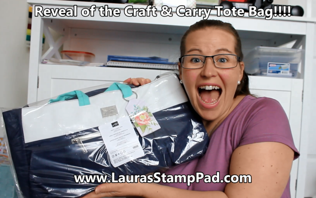 Craft & Carry Tote, www.LaurasStampPad.com