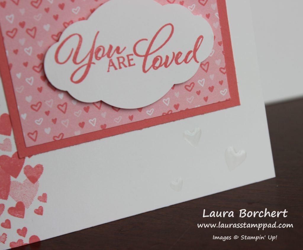 All My Love Designer Paper, www.LaurasStampPad.com