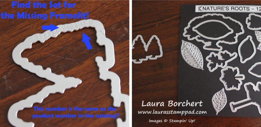 Have a Missing Framelit, www.LaurasStampPad.com