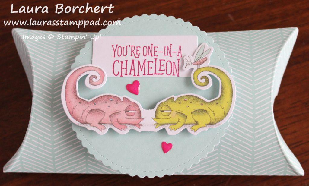 Once in a Chameleon, www.LaurasStampPad.com