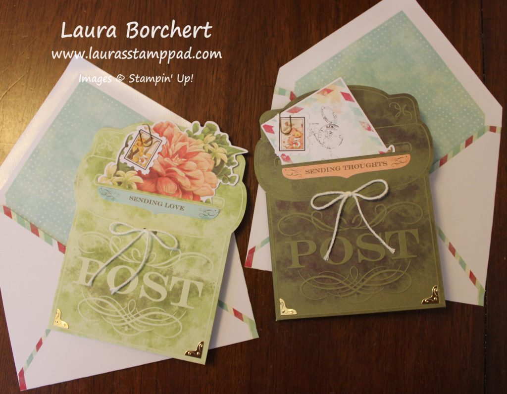 Precious Parcel Card Kit, www.LaurasStampPad.com