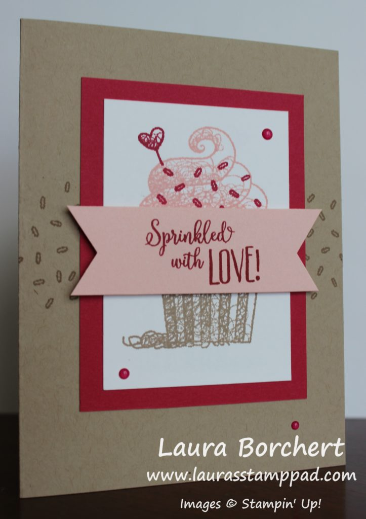 Sprinkled with Love, www.LaurasStampPad.com