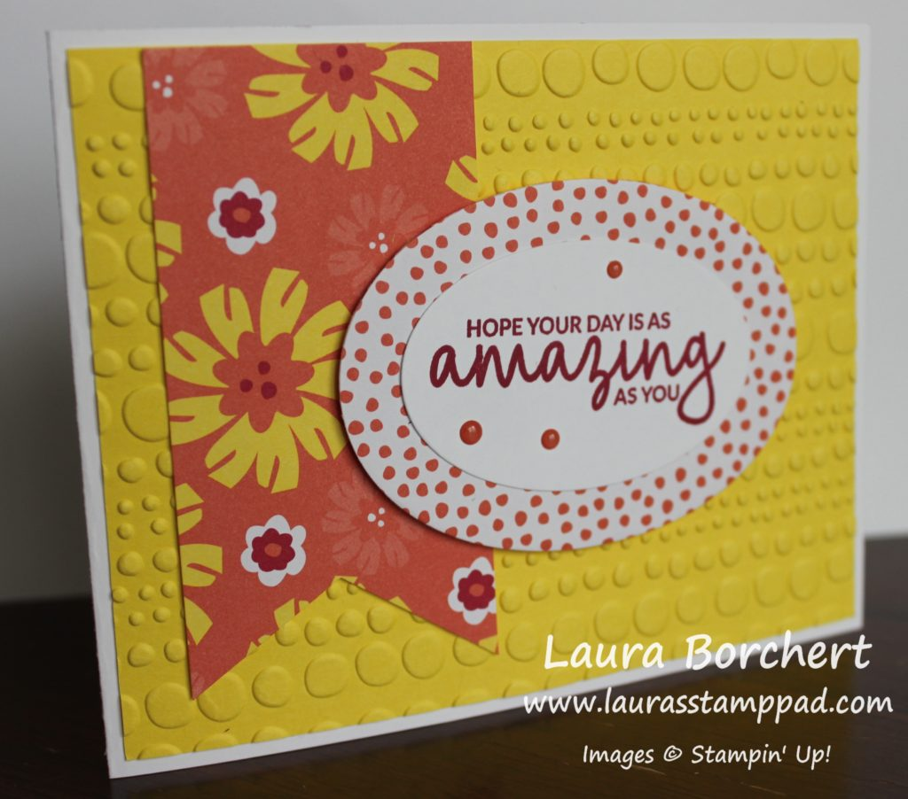 You Are Amazing, www.LaurasStampPad.com