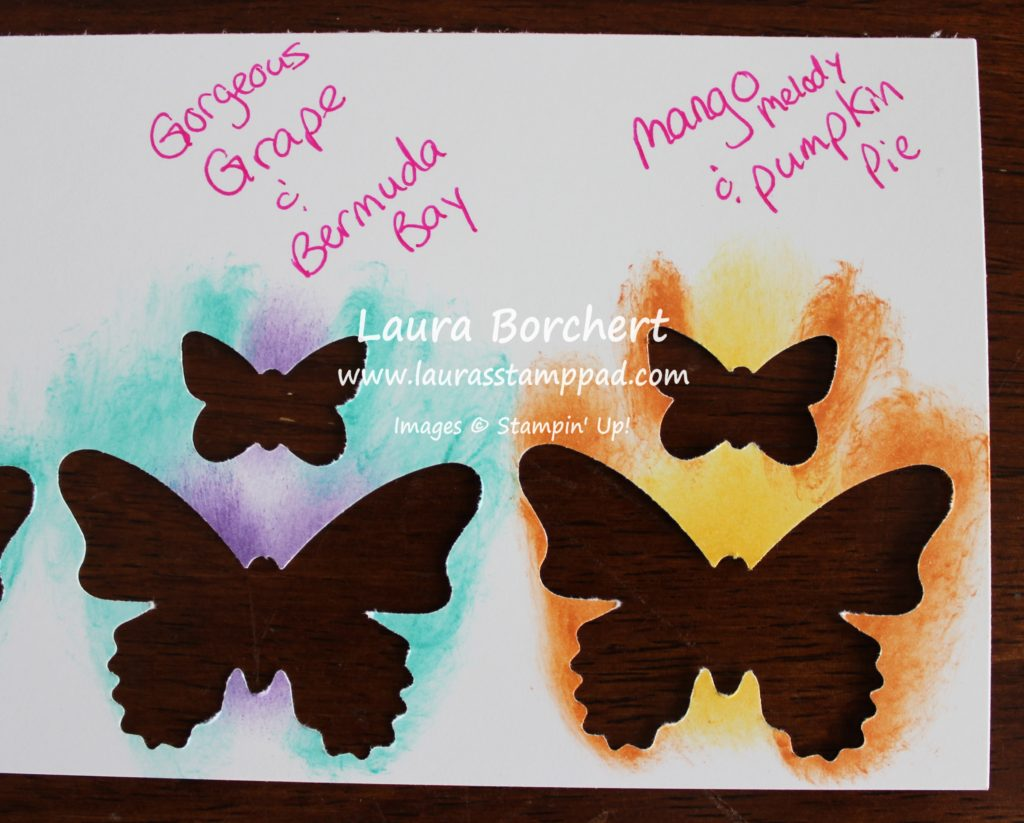 Color Combinations, www.LaurasStampPad.com
