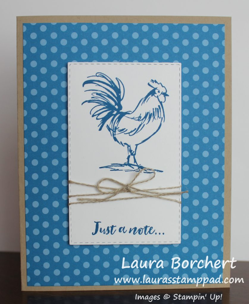 Just A Note..., www.LaurasStampPad.com