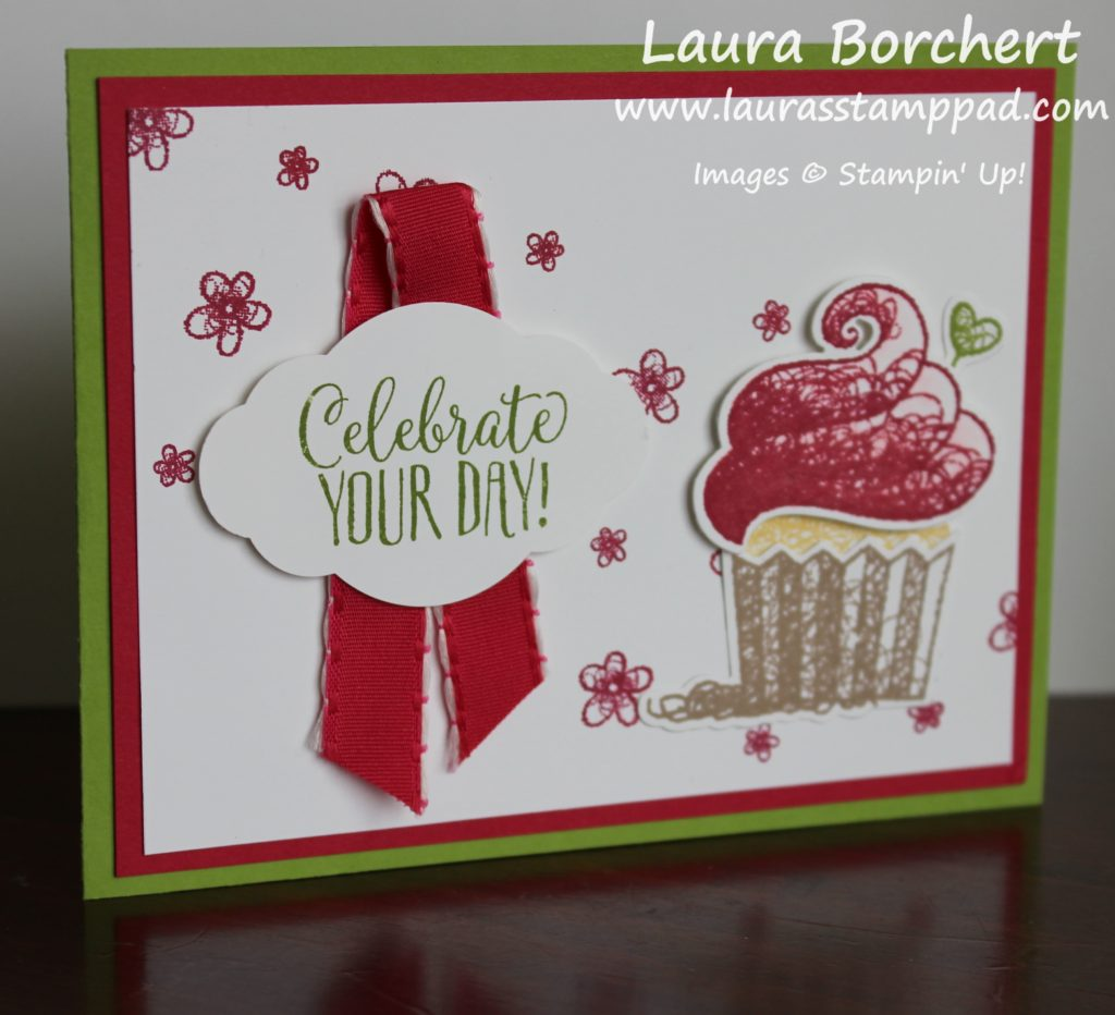 celebrate with cupcakes, www.laurasstamppad.com