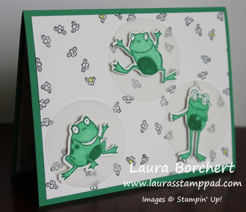 Flippin' Frogs, www.LaurasStampPad.com