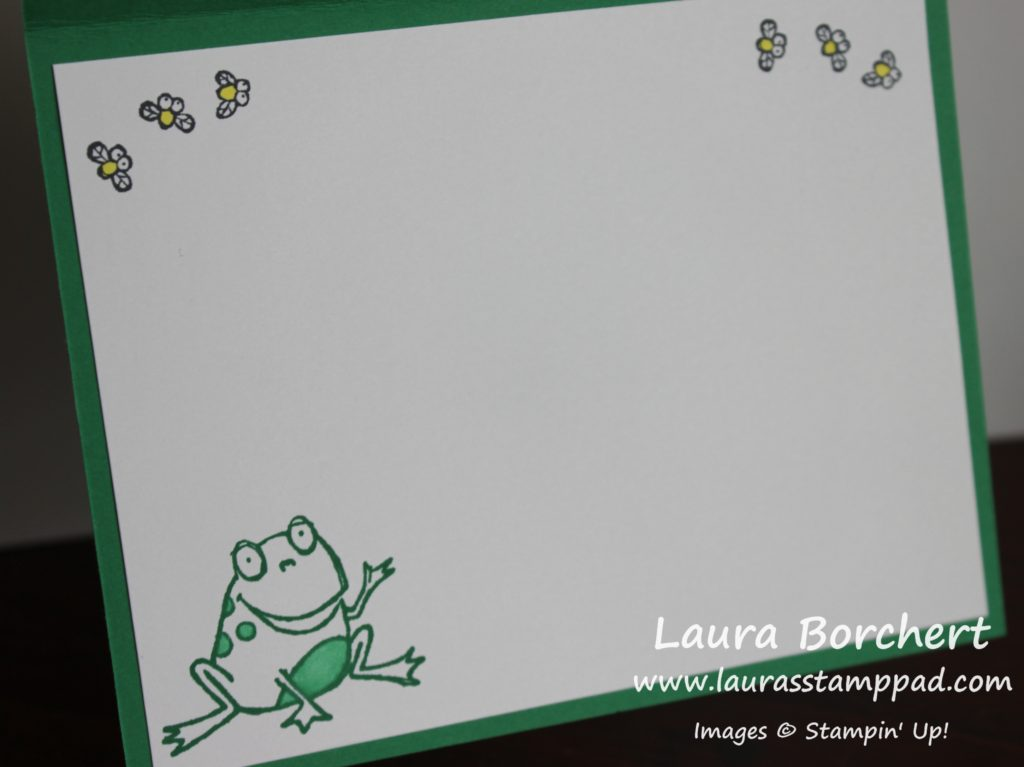 Frogs & Flies, www.LaurasStampPad.com