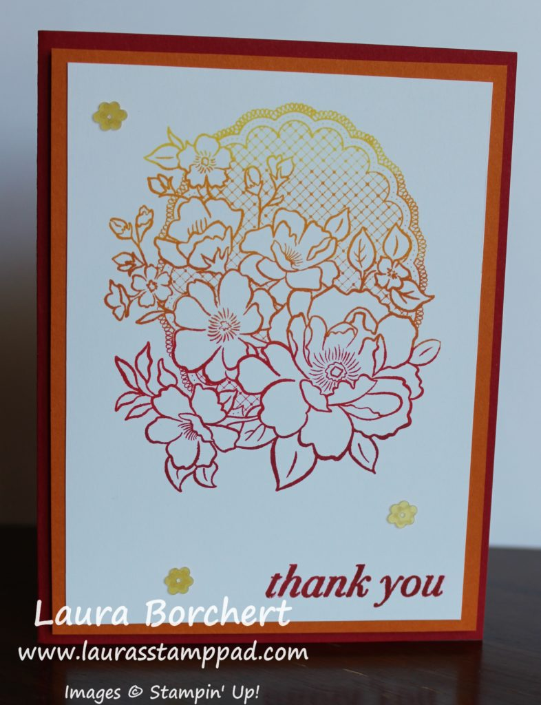 Lovely Lattice Sale-A-Bration Stamp Set, www.LaurasStampPad.com