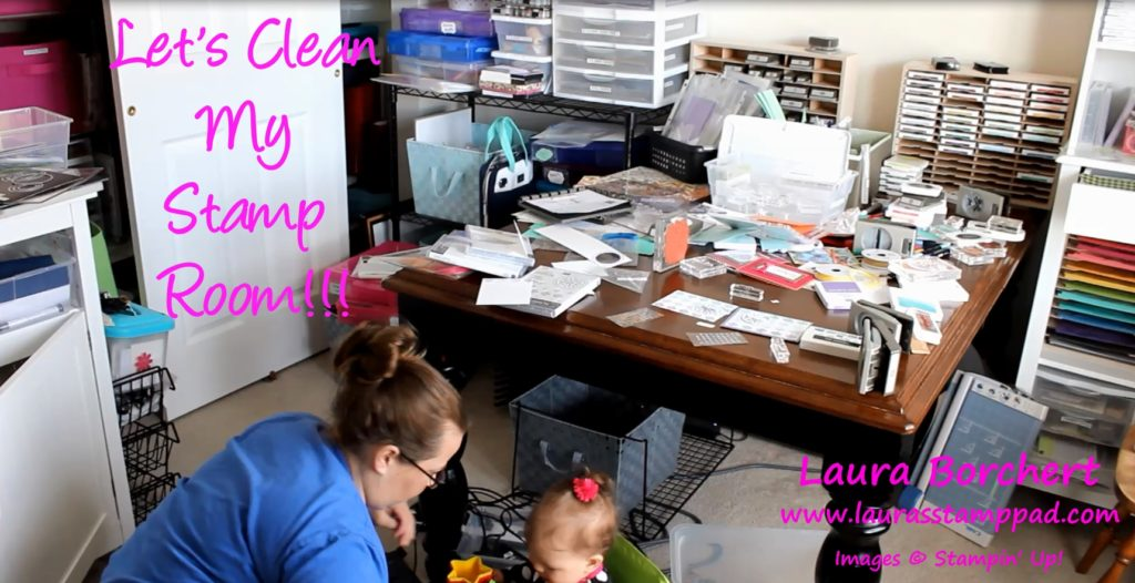 Does your stamp room look like this, www.LaurasStampPad.com