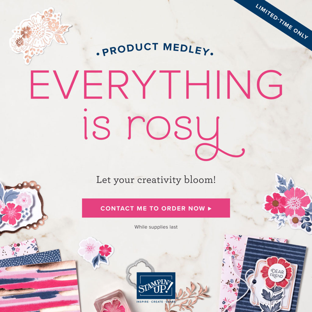 Everything is Rosy, www.LaurasStampPad.com