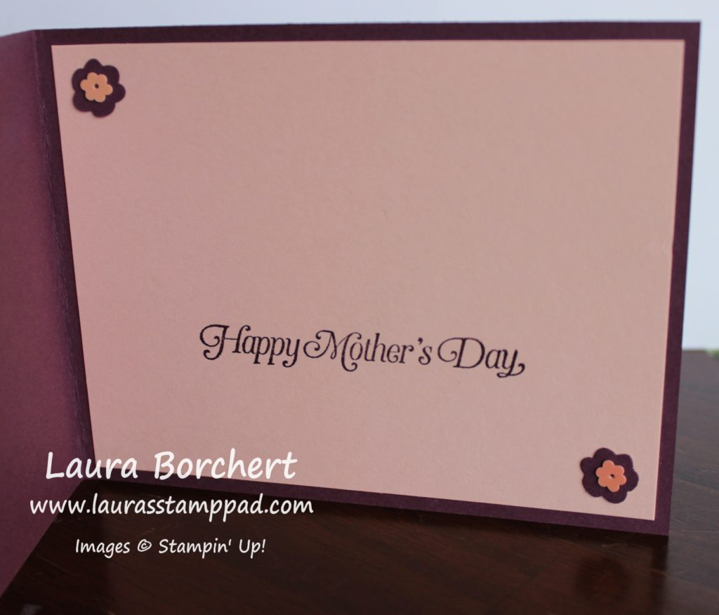 Happy Mother's Day, www.LaurasStampPad.com