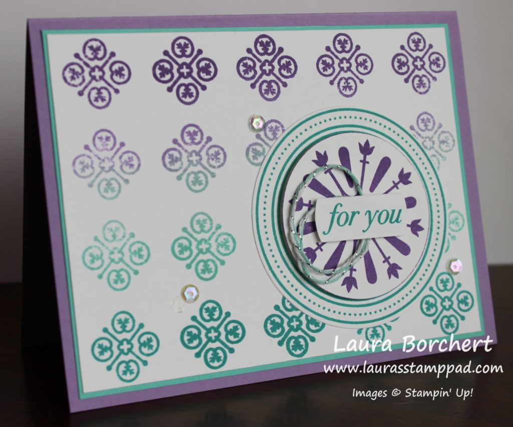 My Amazing Card, www.LaurasStampPad.com