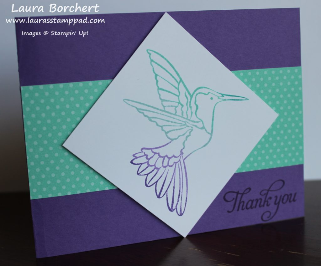 Hummingbirds, www.LaurasStampPad.com
