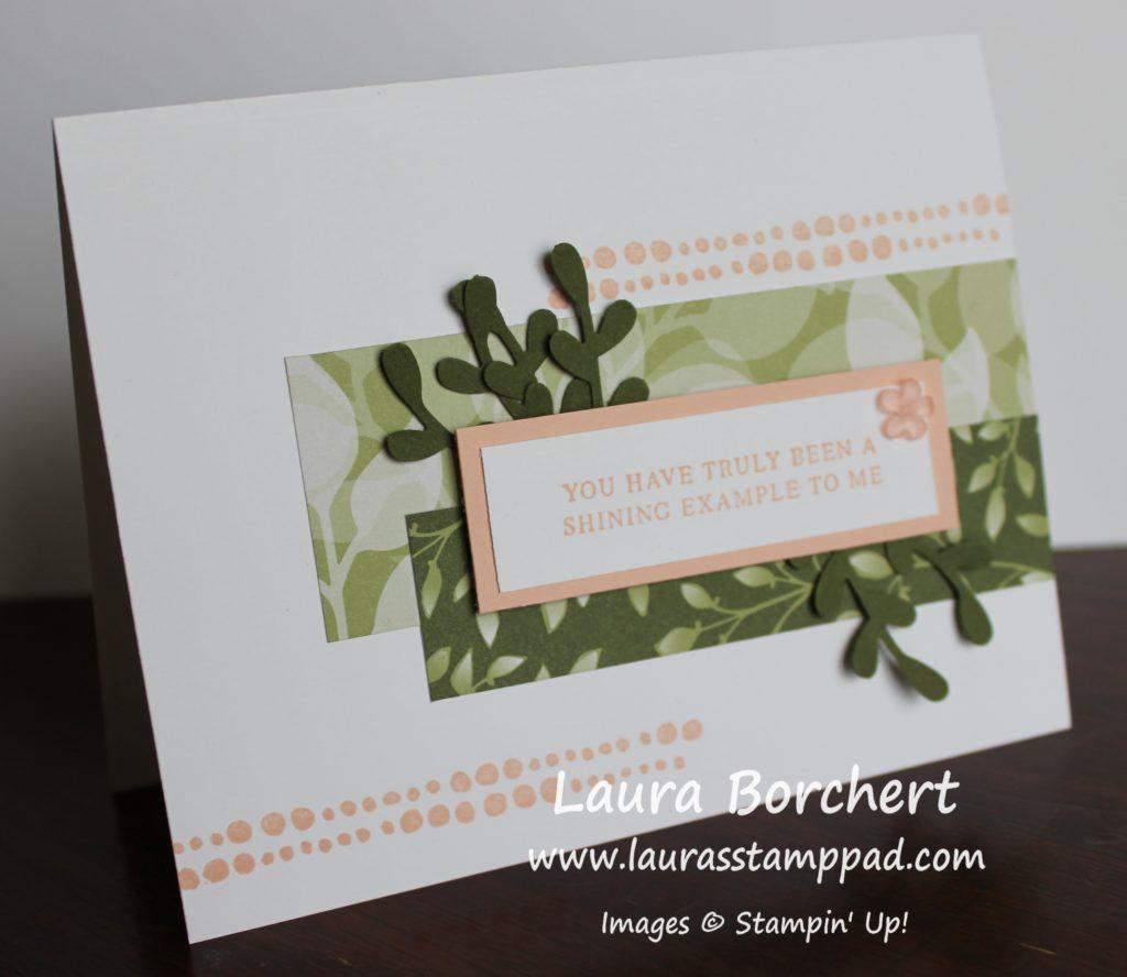 Layering Designer Paper, www.LaurasStampPad.com