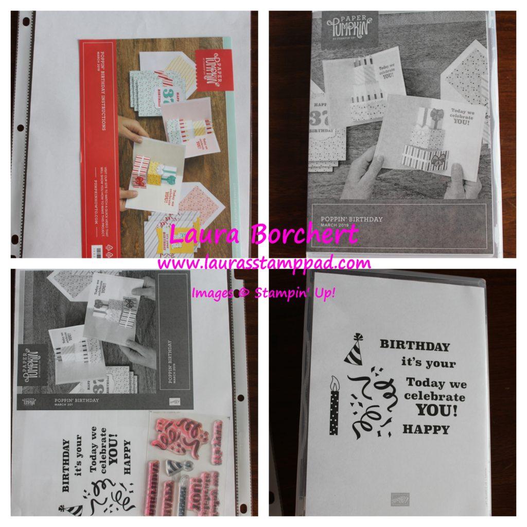 Paper Pumpkin Stamp Storage, www.LaurasStampPad.com
