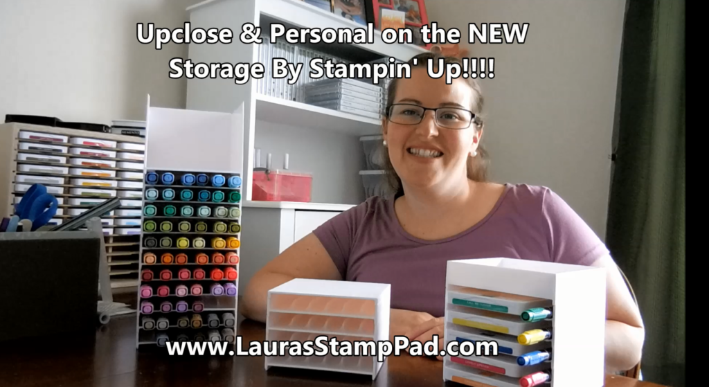 Storage By Stampin' Up, www.LaurasStampPad.com