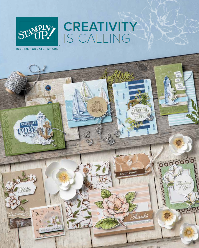 The New Catalog is Here, www.LaurasStampPad.com