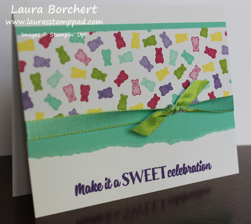 Make It A Sweet Celebration, www.LaurasStampPad.com