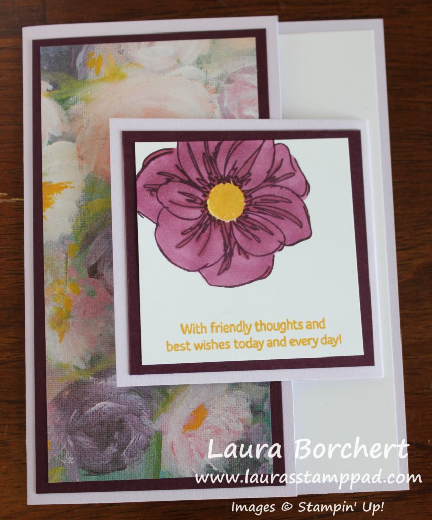 Creating a Double Fold Card, www.LaurasStampPad.com