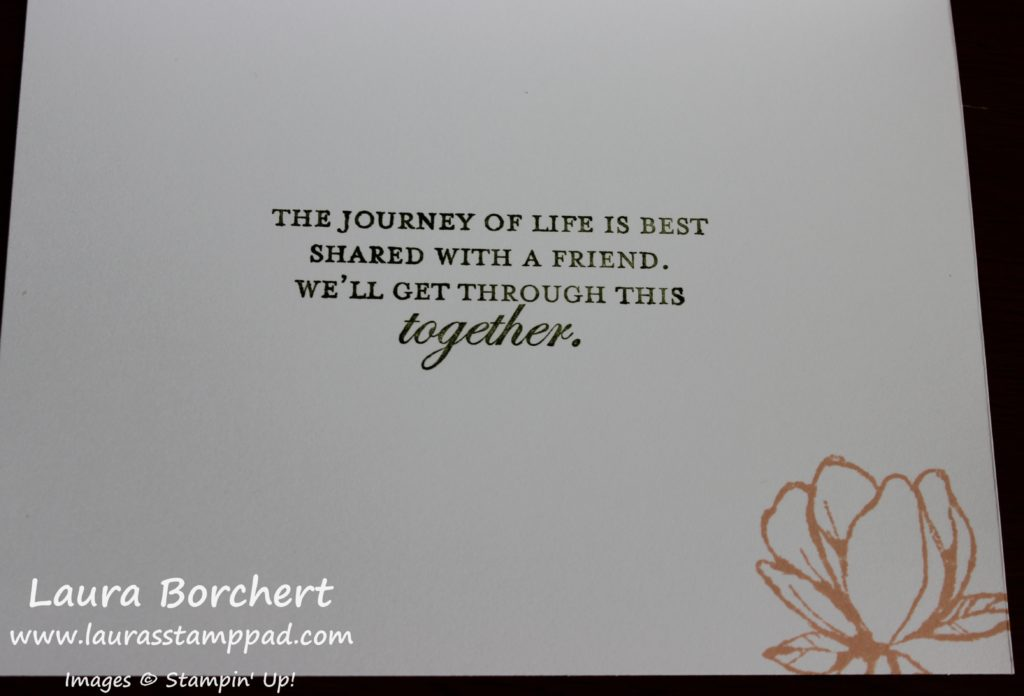 Get through this together, www.LaurasStampPad.com