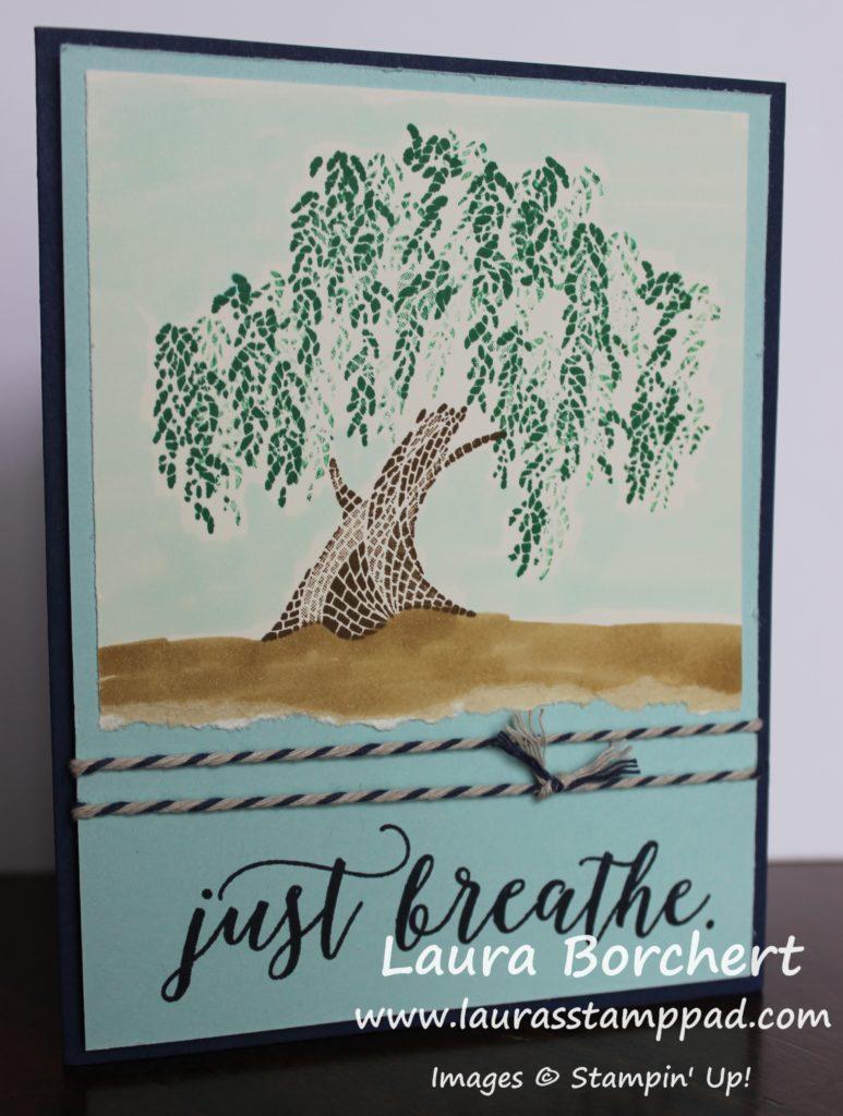 It is a tree, www.LaurasStampPad.com