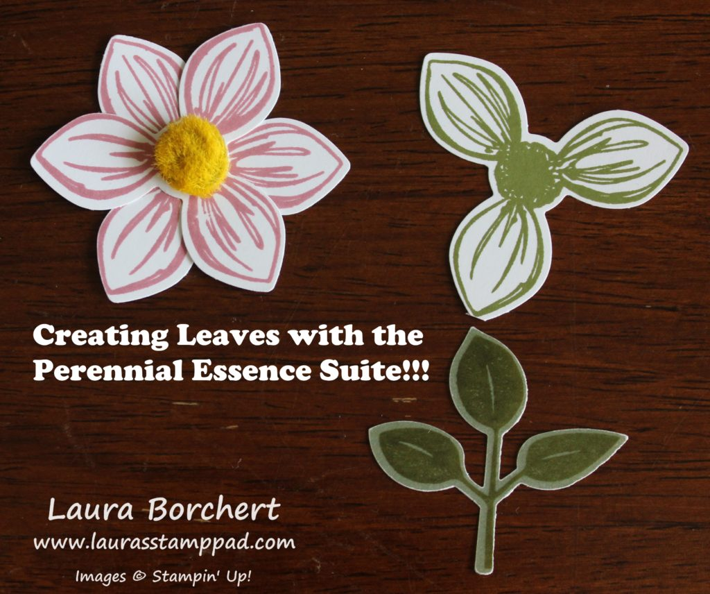 Tips for the Perennial Essence Suite, www.LaurasStampPad.com