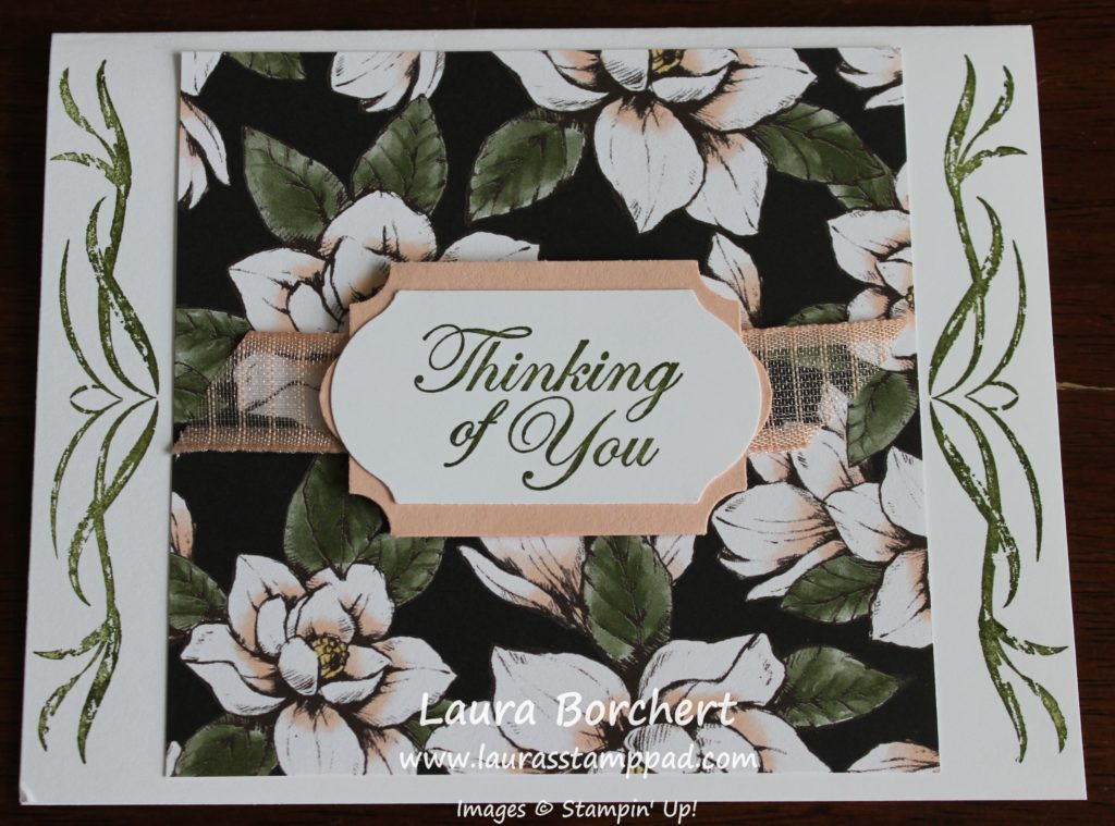 Quick Thinking of You Card, www.LaurasStampPad.com