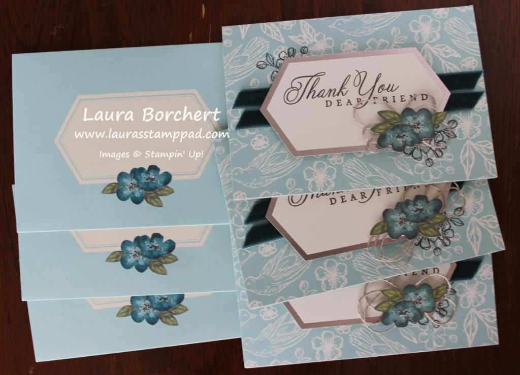 Thank You Dear Friend, www.LaurasStampPad.com